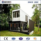 Pre Manufactured Container Homes 40FT Luxury Shipping Container House