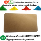 Medium Bronze Color Powder Coating Pure Polyester Powder Paint