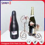 Red Wine EVA Tool Case Safe Box Packing Fabric Bag