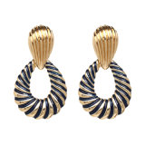 Wholesale 2018 Top Design Women Fashion Jewelry Accessories Fashion Alloy Round Drop Earrings