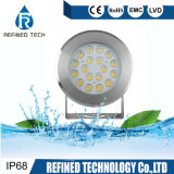 High Class IP68 Low Voltage 316 Stainless Steel LED Underwater Spotlight Fountain Light