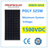 1500VDC Solar System Voltage High Efficiency Polysilicon New Energy 325W