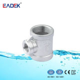 Ss Stainless Steel Fittings Reducing Tee with NPT Thread
