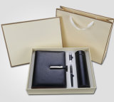 Office Stationery Notebook Metal Pen Flash Drive Thermos Business Gift Set