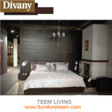 Teem King Size Wooden Bed