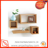 Wholesale Essentia Wood/Wooden Wall Display Shelf for Shopping Center