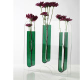 Tall Clear Desktop Acrylic Plastic Vases Display