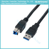New USB3.0 Am Male to USB Bm Printer Cable for Computer Laptop