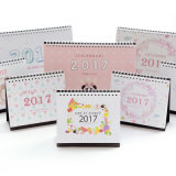 Fancy Customized Design Paper Desk Calendar Printing