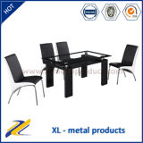 Italian Style Modern Glass Dining Room Furniture Dining Set