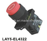 Lay5-EL4322 Spring Return Convex Push Button