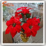 Artificial Flower Wholesale Cheap Plastic Flowers for Christmas Decor