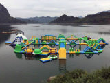 2019 Popular Water Inflatable Floating Amusement Park