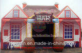 Customized PVC Inflatable Pubs with Fireplace