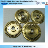 Bronze /Stainless Steel /Carbon Steel Lost Wax Casting Pump Impeller