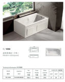 Common Brief Built-in Two Side Skirt Bathtub (BL-1004)