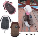 Yj79419 Warm Dog Soft Playing Outdoor Winter Clothes