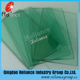 8mm French Green/Light Green Tinted Float Glass