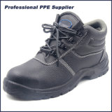 China Cheap Buffalo Leather Safety Shoes for Workers