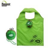 190t Polyester Strawberry Foldable Shopping Bag