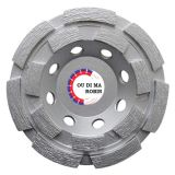 Cold-Pressed Double Rows Cup Grinding Wheel