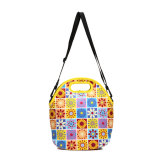 Cotton Colorful Women Cute Shoulder Bag (MBNO038018)