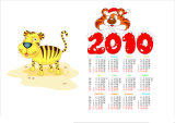 New Design Promotional Paper Printing Calendars