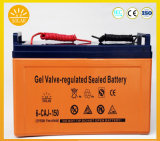 Best Price 12V 50ah 90ah 100ah 150ah Solar Gel Battery Lead-Acid Battery for Solar System