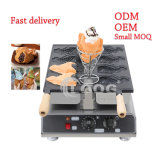 Newest Taiyaki Waffles Machine Korean Lolly Stick Open Mouth Fish Shaped Donut Maker Mini Pancake Donuts Egg Bubble Electric Ice Cream Cone Taiyaki Maker