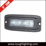 "DC 12V IP67 Waterproof 5"" 12W Flush Mount LED Back up Lights"