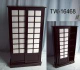 Sliding Door CD/DVD Storage Cabinet (TW-16468)