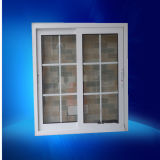 Double Insulating Glass Aluminum Sliding Window with Grill Designs