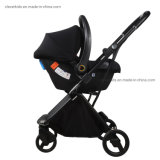 High Quality Aluminum Light Weight Portable Folding Baby Stroller Buggy Pram Carrier Travel System 3-in-1