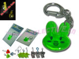 Wholesale Reflective Hanger Badge with Key Chain- Jadite II - 2