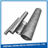 Stainless Steel Perforated Pipe Tubes for Auto Exhaust System