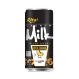 250ml Canned Cashew Milk with Black Sesame-Vietnam Manufacturer-OEM Fruit Juice-From Rita Brand