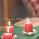 Pillar Candle of Red Candle for Church Using