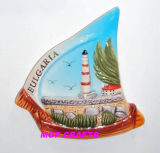 Hand Painted Magnet of Ceramic Souvenir Crafts