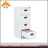 White Color Four Drawer Cabinet for Office and School Use