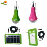 2W Solar Powered LED Mini Solar Light Kits Small Home Lighting Kit for Indoor Shed Room