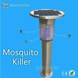 Solar Garden Lamp with Electronic Mosquito Zapper Function - 2 in 1