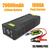 20000mAh 1000A Car Battery Booster Portable Jump Starter for Gasoline/Diesel