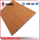 Ideabond Red Cherry Wooden Look Aluminum Decorative Panel