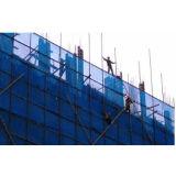 Green, Blue, 100% Virgin HDPE Construction Building Safety Barrier Net, Scaffolding (scaffold) Net, Debris Net, PE Shading (shade) Net