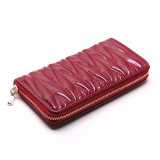 Embroidered PU Leather Wallet for Women