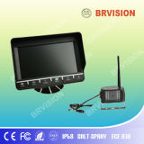"7"" Color Quad View LCD Car Monitor with Touch Screen"