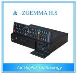 High-Tech Digital Zgemma H. S HDTV Receiver High CPU Dual Core Linux OS Enigma2 DVB-S2 One Tuner