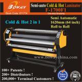 Semi-Auto 162cm/63.7 Inch/1620mm Cold & Hot Roll Film Paper Laminator Laminating Lamination Machine