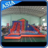 Commercial Inflatable Water Slide Used in Beach