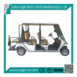 L7e EEC Certified Utility Cart, 4 Seater with Flip Seat Platform, Pure Electric, Ec Type Approval Golf Cart